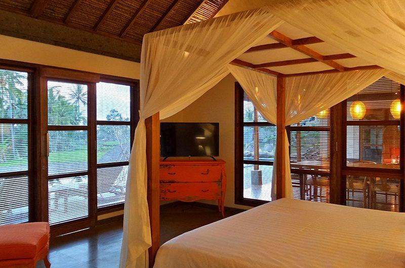 Umah Jae Bedroom with TV | Ubud, Bali