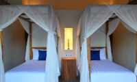 Umah Jae Twin Bedroom with Lamps | Ubud, Bali