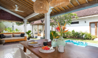 Villa Crystal Dining Area | Seminyak, Bali