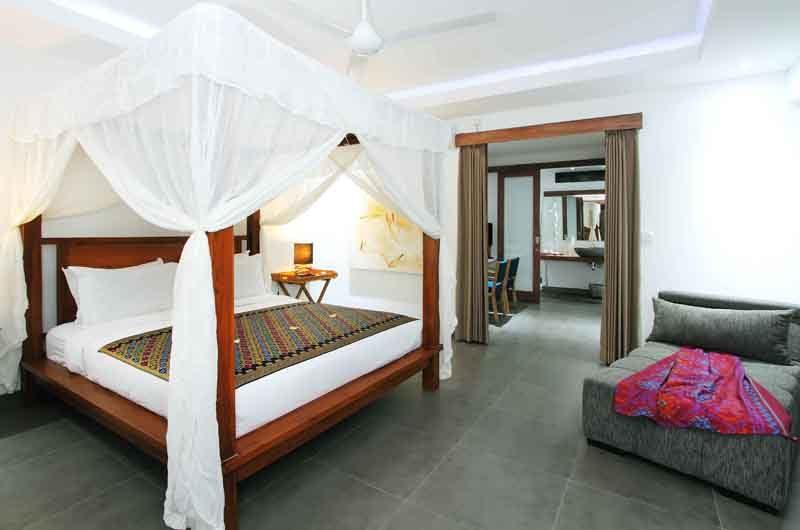 Villa Paloma Seminyak Bedroom with Lamps | Seminyak, Bali
