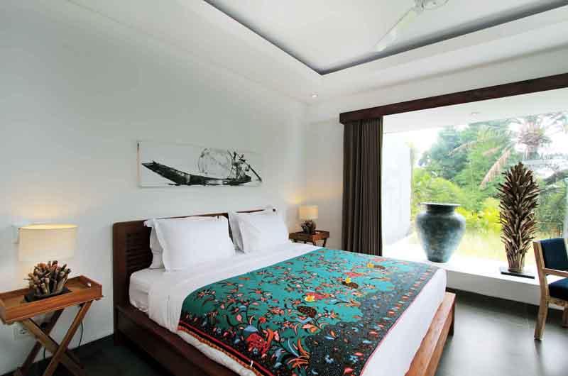 Villa Paloma Seminyak Bedroom Side with Lamps | Seminyak, Bali