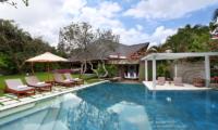 Villa Sin Sin Swimming Pool Area   Kerobokan, Bali