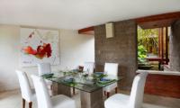 Villa Sin Sin Dining Room   Kerobokan, Bali