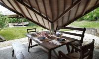 Villa Sin Sin Dining Table   Kerobokan, Bali