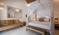 Villa Sungai Bali Bedroom Area with Mirror | Tabanan, Bali
