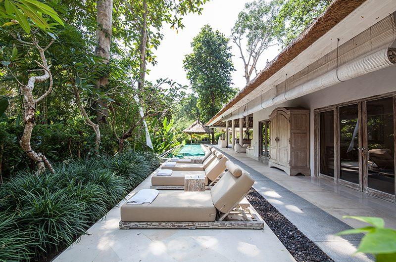 Villa Sungai Bali Sun Beds Area | Tabanan, Bali