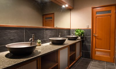 Powderhouse Bathroom | Hakuba, Nagano