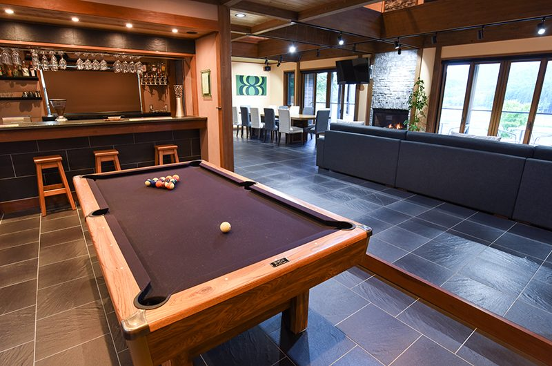 Powderhouse Pool Table | Hakuba, Nagano