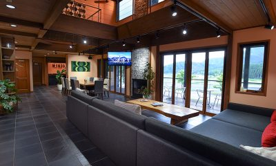 Powderhouse Living Room | Hakuba, Nagano
