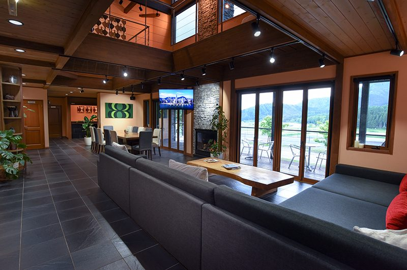 Powderhouse Living Room | Hakuba, Nagano