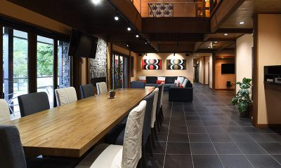 Powderhouse Dining and Living Area | Hakuba, Nagano