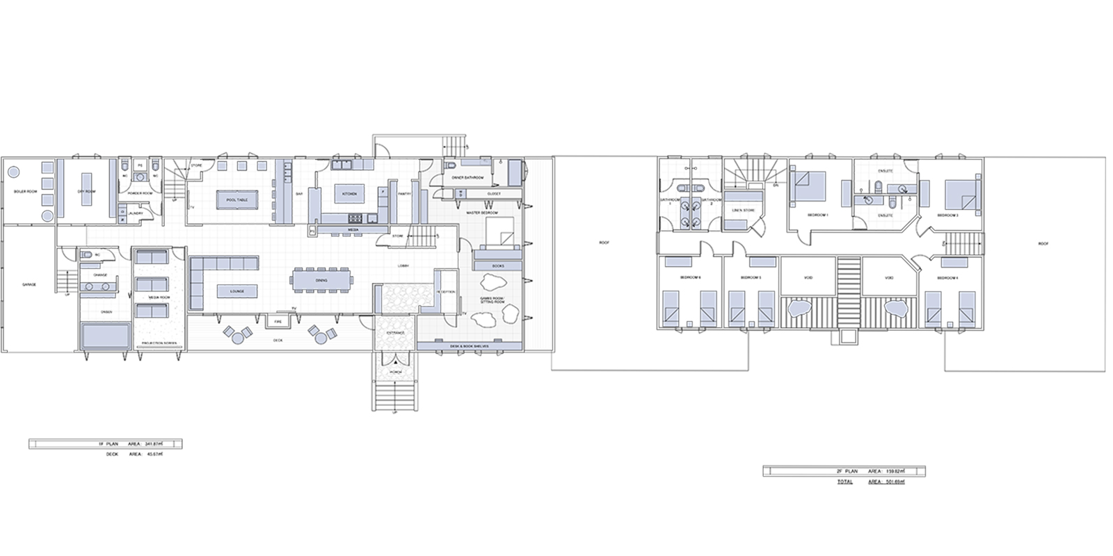 Powderhouse Floor Plan | Hakuba, Nagano