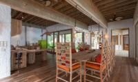 Soneva Fushi Villa 14 Dining Area | Baa Atoll, Maldives