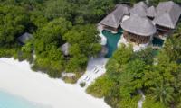 Soneva Fushi Villa 41 Building Area   Baa Atoll, Maldives