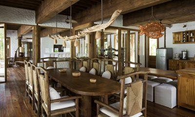 Soneva Fushi Villa 42 Dining Area | Baa Atoll, Maldives