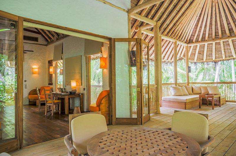 Soneva Fushi Villa 68 Living Area | Baa Atoll, Maldives
