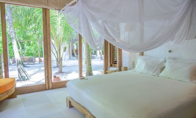 Soneva Fushi Villa 68 Bedroom Side with View | Baa Atoll, Maldives