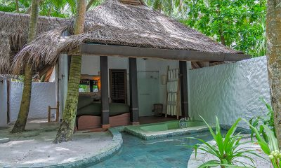 Soneva Fushi Villa 68 Outdoor Bathtub | Baa Atoll, Maldives