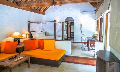 Soneva Fushi Villa 68 Living Room | Baa Atoll, Maldives