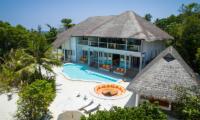 Soneva Fushi Villa One Exterior | Baa Atoll, Maldives