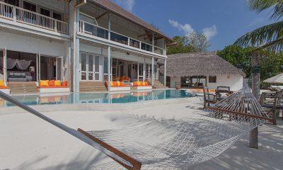 Soneva Fushi Villa One Swimming Pool Area | Baa Atoll, Maldives