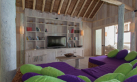 Soneva Fushi Villa One Living Area | Baa Atoll, Maldives