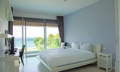 Villa Summer Estate Bedroom with Ocean View | Natai, Phang Nga