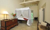 Kimbulagala Watte Villa Bedroom Side with Lamps   Koggala, Sri Lanka