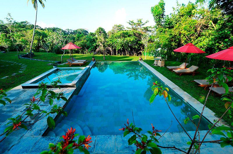 Koggala House Pool and Garden Area   Koggala, Sri Lanka
