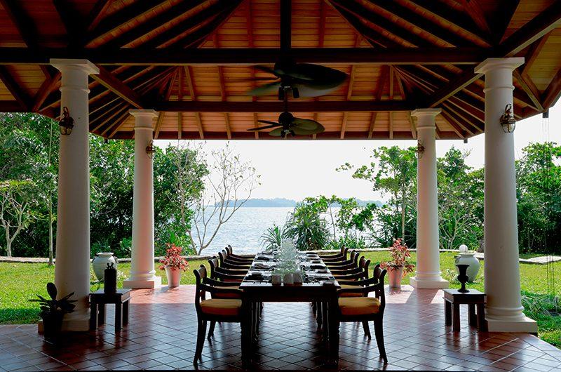 Koggala House Open Plan Dining Area   Koggala, Sri Lanka