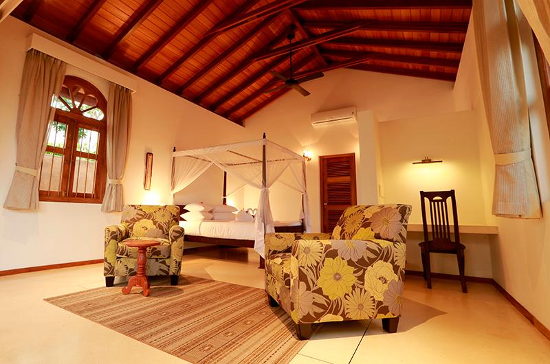 Koggala House Bedroom with Study Table   Koggala, Sri Lanka