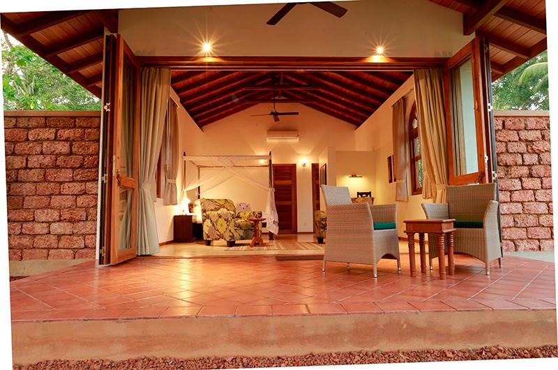 Koggala House Bedroom with Terrace   Koggala, Sri Lanka