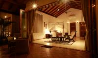 Koggala House Bedroom with Seating   Koggala, Sri Lanka