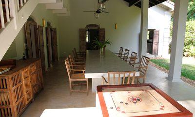 Siri Wedamadura Villa Dining Area | Mirissa, Sri Lanka