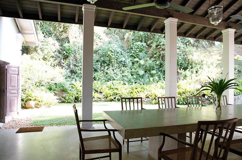 Siri Wedamadura Villa Dining Table | Mirissa, Sri Lanka