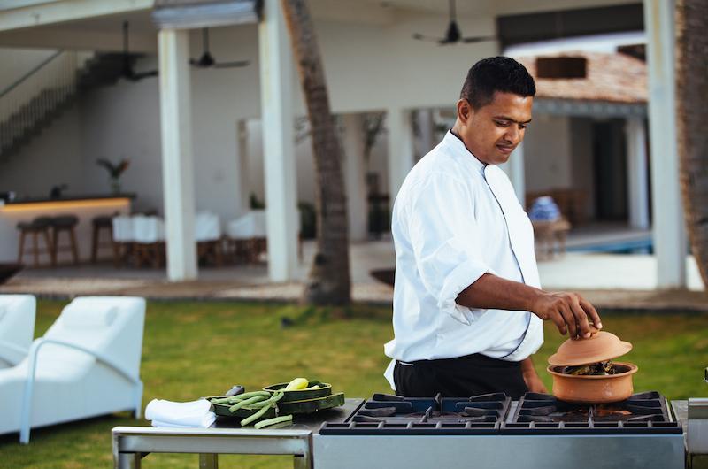 Sri Lanka Talpe Ishq Villa Chef