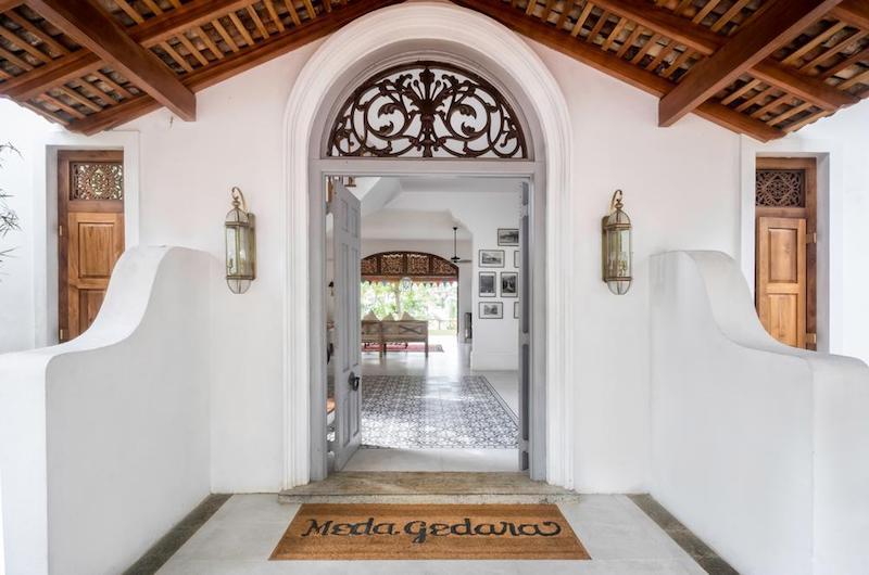 Sri Lanka Talpe Meda Gedara Entrance