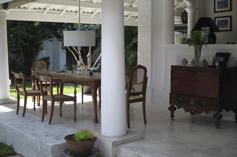 The Well House Dining Table | Galle, Sri Lanka