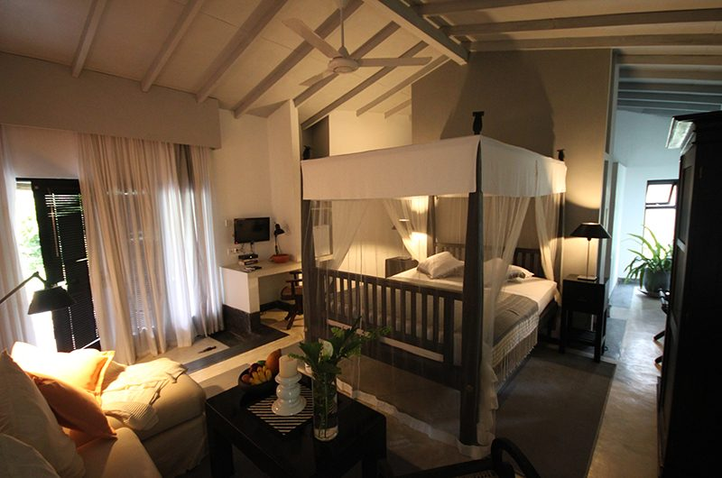 The Well House Bedroom with TV | Galle, Sri Lanka
