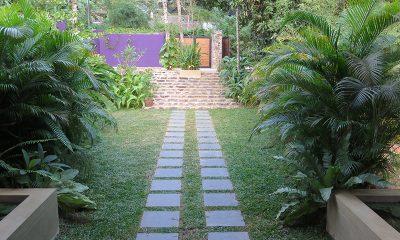 Villa Wambatu Front Door | Galle, Sri Lanka