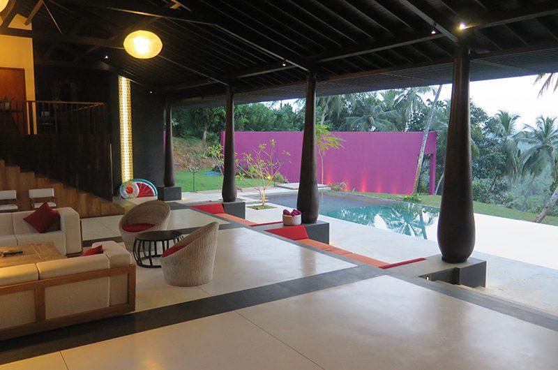 Villa Wambatu Open Plan Living Area | Galle, Sri Lanka