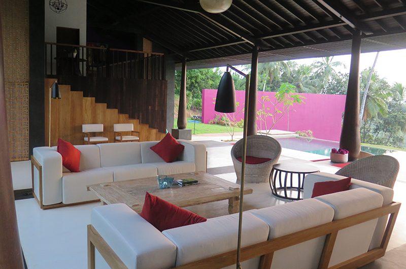 Villa Wambatu Living Room | Galle, Sri Lanka