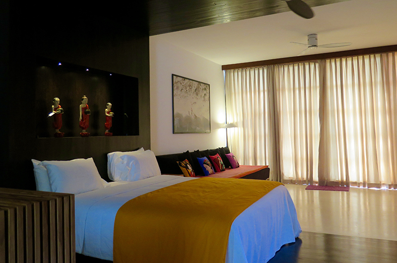 Villa Wambatu Bedroom Side with Chair | Galle, Sri Lanka