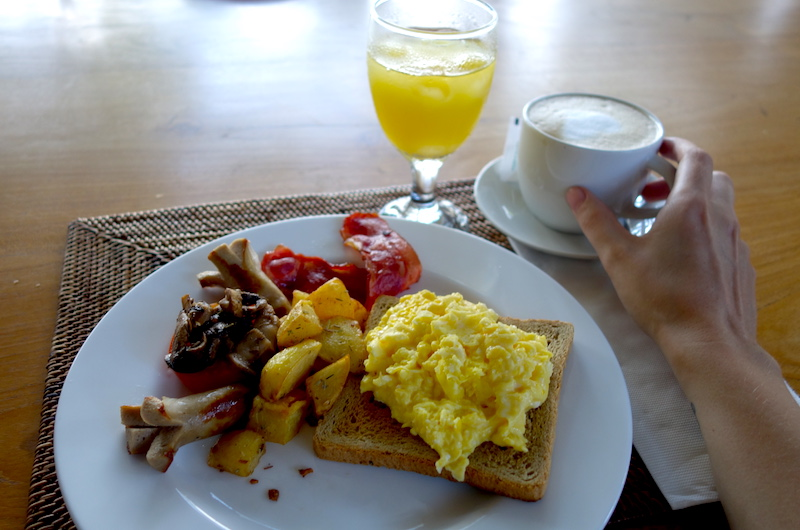 Bali Seminyak The Cotton House Breakfast Plate