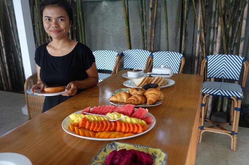 Bali Seminyak The Cotton House Breakfast