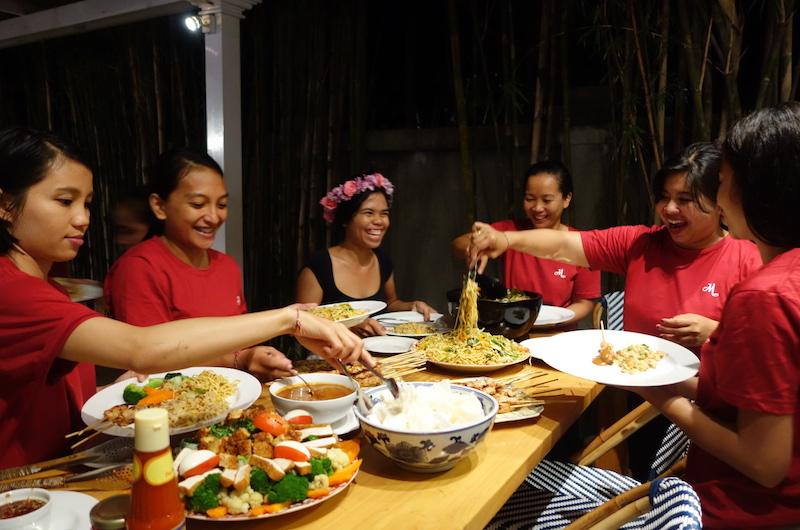 Bali Seminyak The Cotton House Dinner
