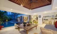 Villa Anahata Open Plan Living Area | Seminyak, Bali