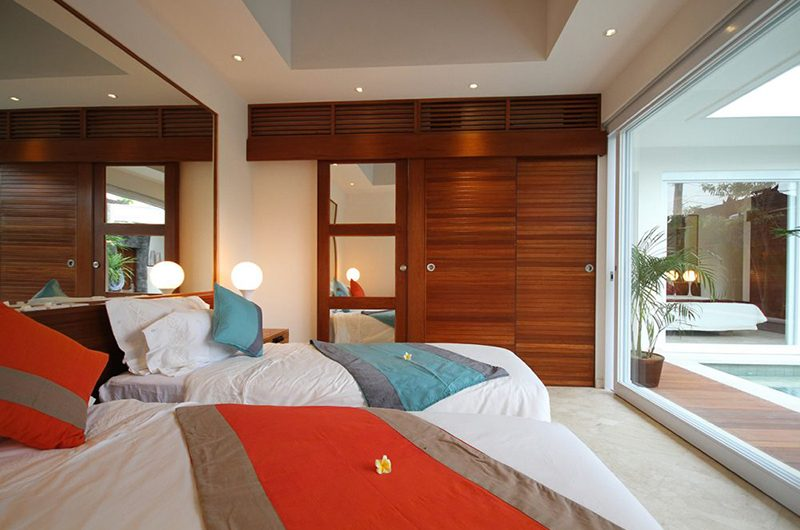 Villa Kalila Twin Bedroom | Seminyak, Bali