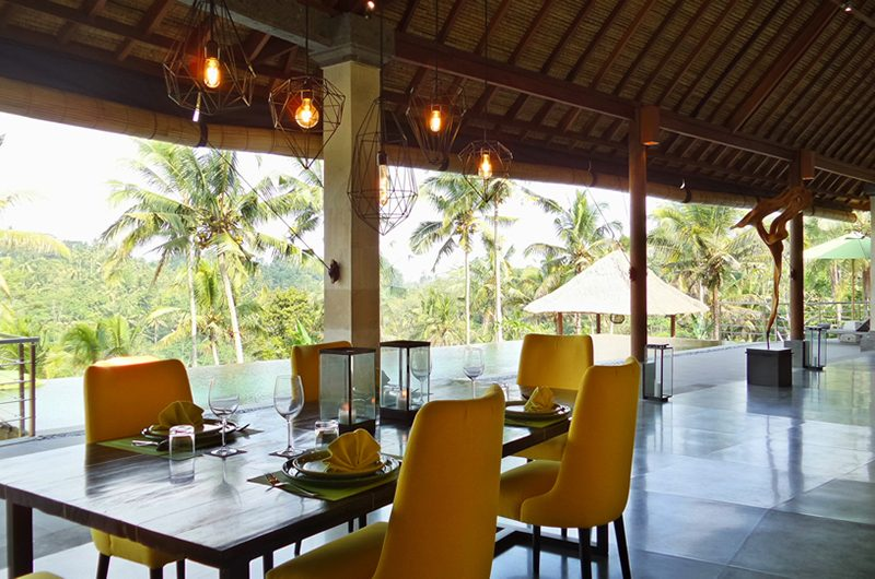 Villa Nature Dining Table | Ubud, Bali