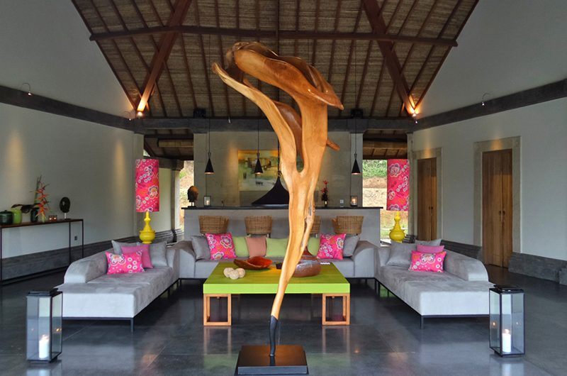 Villa Nature Living Room | Ubud, Bali